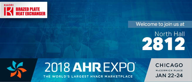 2018 AHR EXPO CHICAGO